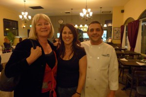 Mary Ellen & Giovanni with winemaker Katie Fox