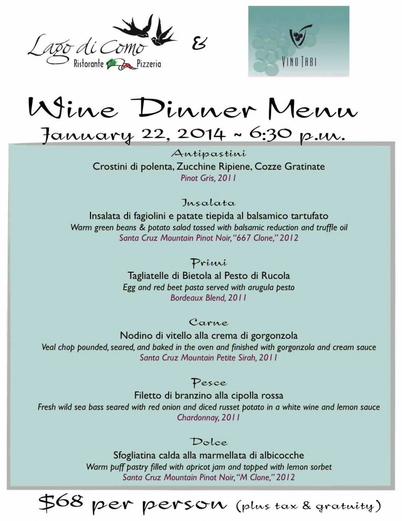 Please call for Reservations! 831-454-8257